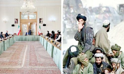 ورود همزمان طالبان به مرز و پایتخت ایران