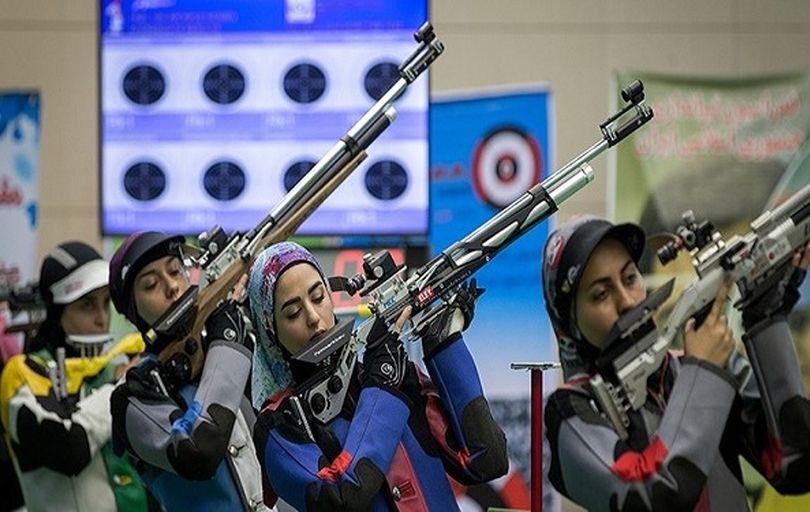 تیم ملی تفنگ زنان ایران طلایی شد