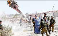 آغاز بزرگترین عملیات تخریب منازل فلسطینیها