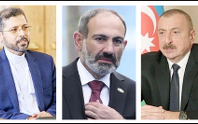واکنش تند پاشینیان و خطیبزاده به اظهارات «علیاف»