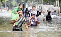 وقوع سیلابهای ویرانگر در هند، نپال و بنگلادش