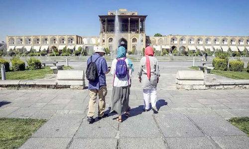 ایران در فصل بهار 74 گردشگر خارجی داشت!