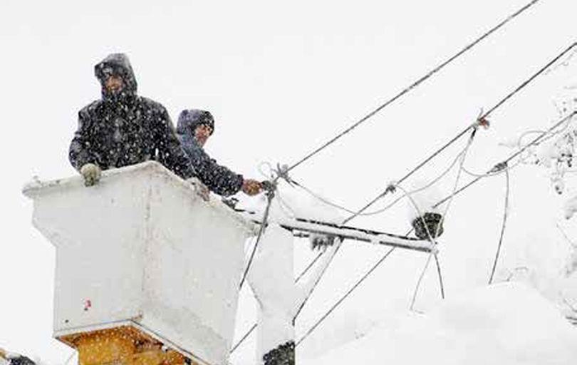 قطع برق و آب در مناطق گستردهای از گیلان