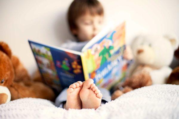 فرهنگ مطالعه در دوران کودکی نهادینه میشود