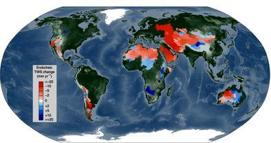 دریای کاسپین و خطر نگاه جنونآمیز هاله پرآبی