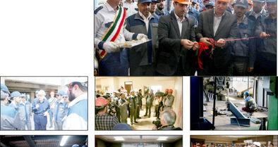 کارخانه تولید بنتونیت شرکت صنعتی و معدنی آتیه فولاد سنگان افتتاح شد