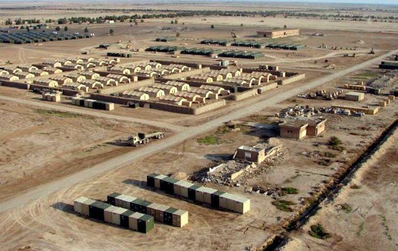 حمله موشکی به پایگاه عینالاسد در الانبار عراق