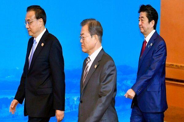 توافق چین، کرهجنوبی و ژاپن به حل پرونده کرهشمالی