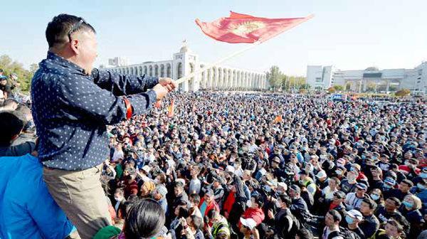 شورش در حیاط خلوت مسکو