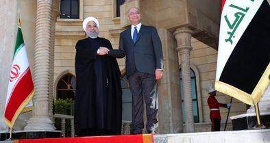 استقبال از روحانی در کاخ «قصرالسلام»