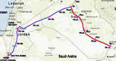 پیشنهاد سوریه به ایران برای ایجاد خط لوله نفت تا مدیترانه