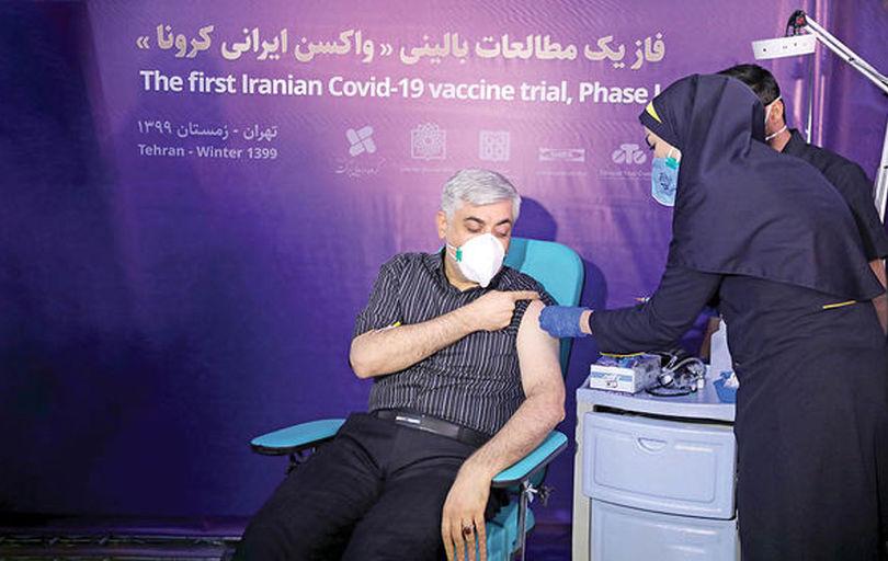 تست انسانی دومین واکسن ایرانی کرونا آغاز شد