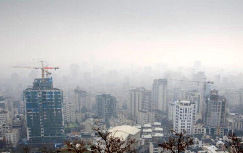هوای تهران برای چهارمین روز پیاپی در وضعیت «قرمز»