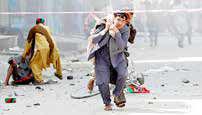 کشته شدن دهها نفر در دو انفجار افغانستان