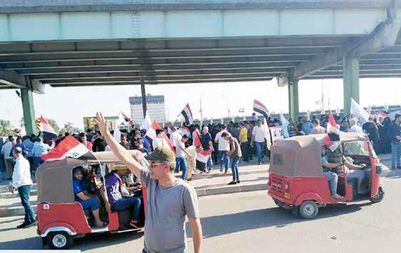 ادامه اعتراضات و درگیریها در بغداد