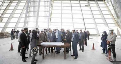 تسریع در ساخت پایانه مسافری فرودگاه بینالمللی کیش