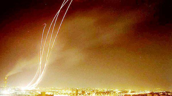 موشکها بر اثر اشتباه شلیک شدهاند