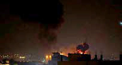 رژیم صهیونیستی، نوار غزه را بمباران کرد