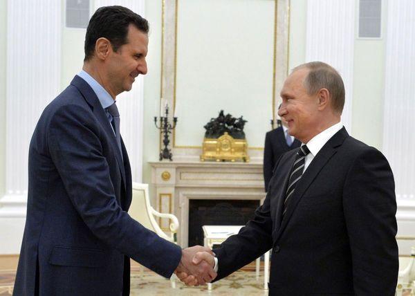 پیشنهاد پوتین به اسد: ترامپ را به دمشق دعوت کن!