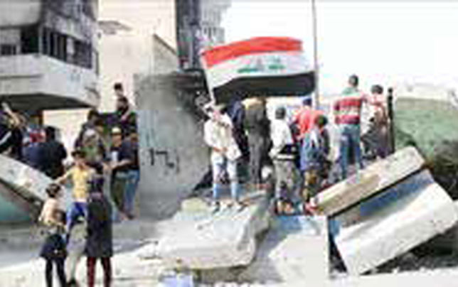 حمله معترضان عراقی به ساختمان استانداری ذیقار