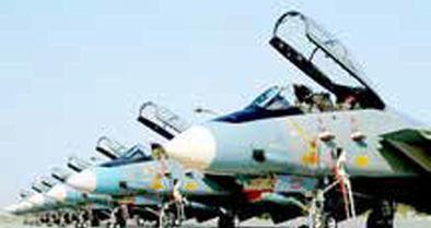 برگزاری رژه هوایی مشترک سپاه و ارتش با پیام صلح و دوستی