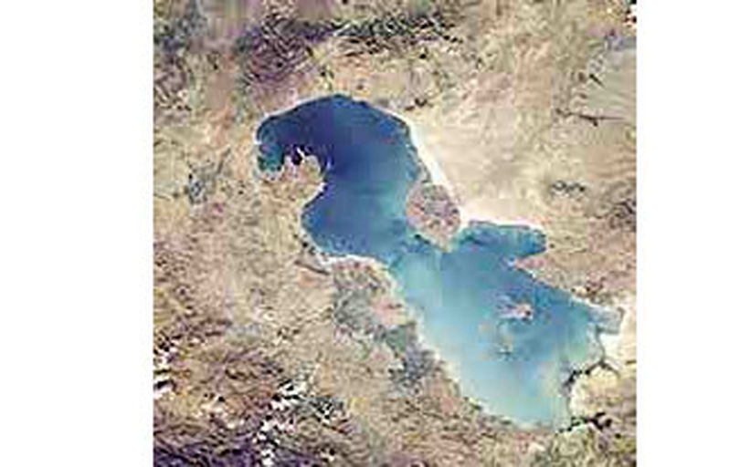 حقآبه دریاچه ارومیه پشت سد وزارت نیرو
