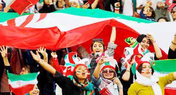 درهای استادیوم آزادی به روی زنان باز میشود