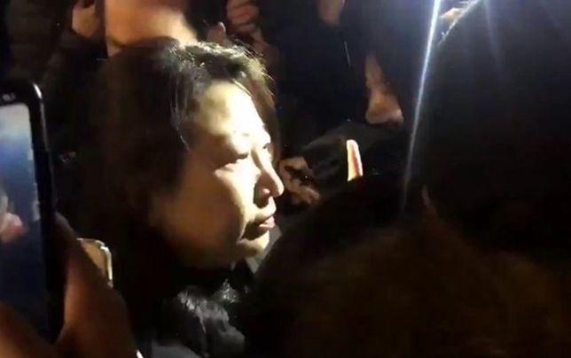 حمله به وزیر دادگستری هنگکنگ در لندن
