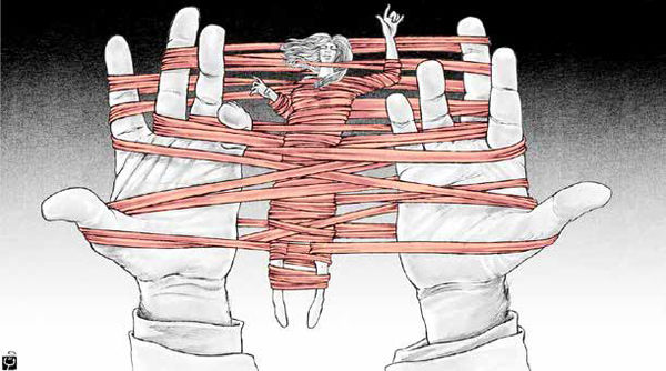 حلقه محاصره قوانین مردانه تنگتر میشود