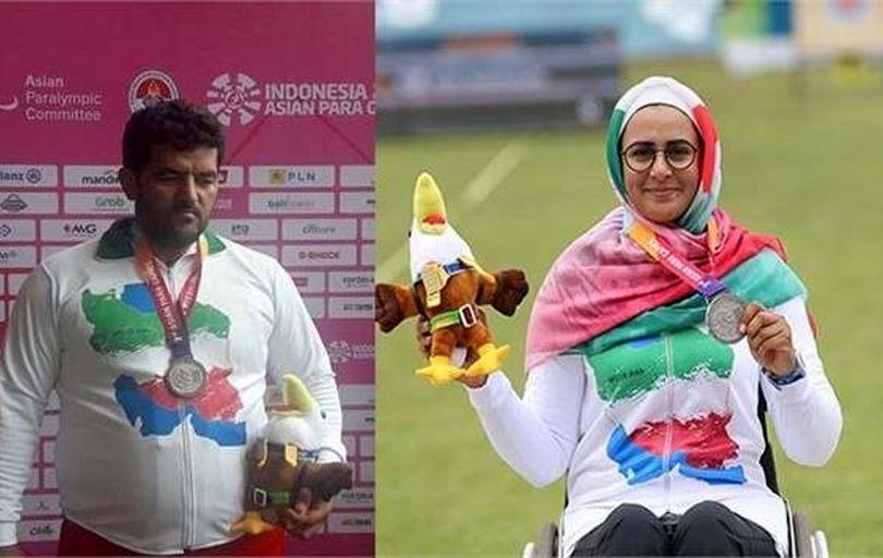 نعمتی و آرخی، پرچمداران کاروان پارالمپیک