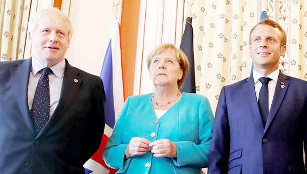 انگشت اروپا روی ماشه  رفت