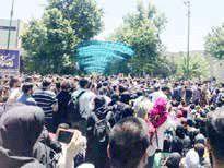 روایت معاون فرهنگی دانشگاه تهران از تجمع دیروز دانشجویان