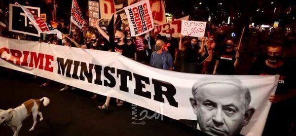 بازداشت ۳ معترض مخالف نتانیاهو در قدس اشغالی