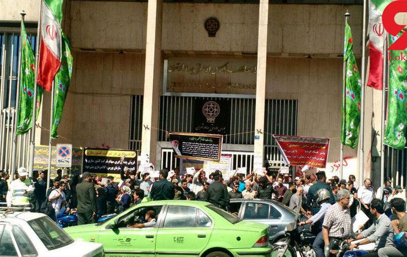 کارگران کنتورسازی قزوین: بلاتکلیفیم