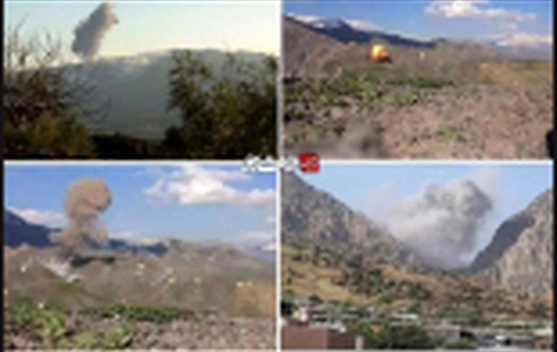 فرار سرکردگان حزب دموکرات کردستان بعد از حملات سپاه