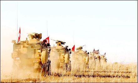 خروج ارتش ترکیه از سوریه