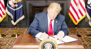 ترامپ آماده تحریم ۱۲ بانک ایرانی شد