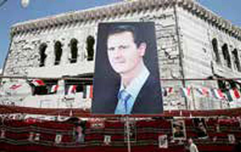 اسد دوباره رئیسجمهور سوریه شد
