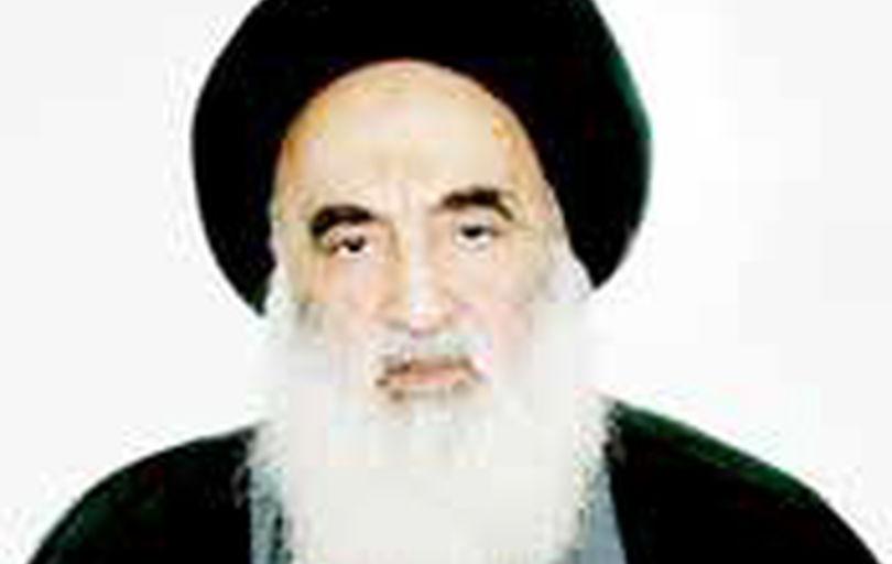 پیام تسلیت آیت الله سیستانی به رهبر انقلاب اسلامی