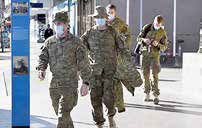 ارتش استرالیا برای اعمال تدابیر قرنطینه به خیابانها آمد