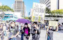 درگیریهای خشونتآمیز معترضان هنگکنگ با پلیس