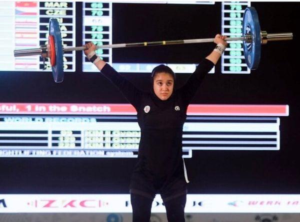 مدال تاریخی غزاله حسینی در مسابقات قهرمانی نوجوانان جهان