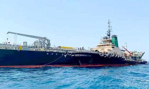 توقیف کشتی خارجی حامل سوخت قاچاق توسط سپاه