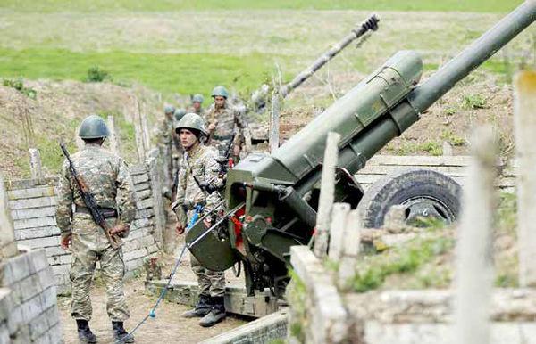 شلیک توپها در قرهباغ