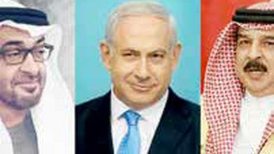 امضای توافق صلح در کاخسفید همزمان با انتفاضه مردم فلسطین