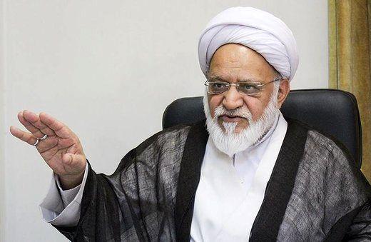 حمایت روحانیت مبارز از لاریجانی کذب است