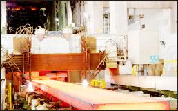 صادرات ۳۹۲ هزار تن شمش فولادی