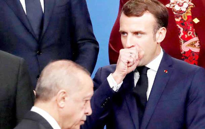 ضربه استراتژیک مکرون به اردوغان