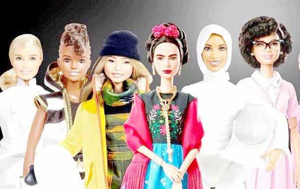 نمادهای موثر در انتقال فرهنگ و زیبایی به دختران