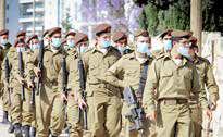 ابتلای ۳۵۰ نظامی اسرائیلی به کرونا و قرنطینه ۱۰ هزار سرباز ارتش